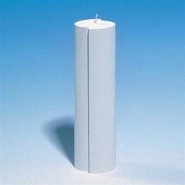 Moule bougies Ovale décalé 60 x 40 x 220 mm