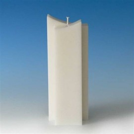 Moule bougies à deux pointes 82 x 40 x 220 mm
