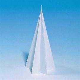 Moule pour bougies Cône en étoile 100 x 200 mm