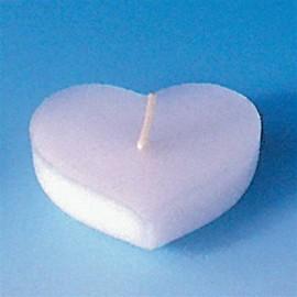 Moule pour bougies flottantes Cœur