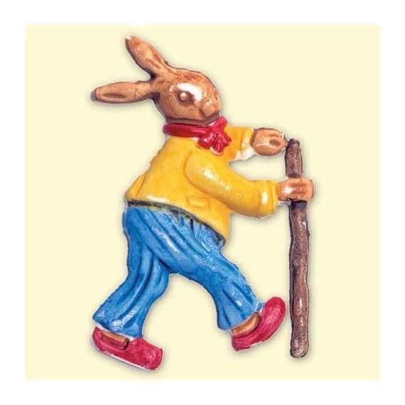 Motif de décoration Pâques - Lapin debout