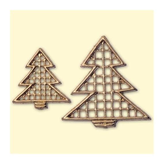 Motif de décoration Noël - Sapins de Noël