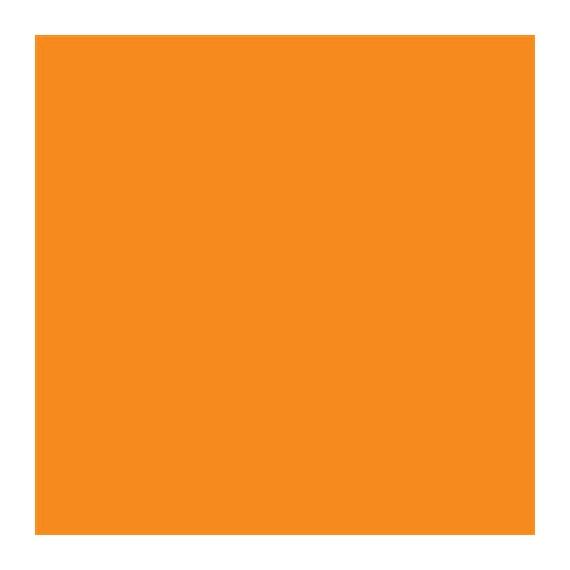 Feuilles de cire 200 x 100 mm - Orange