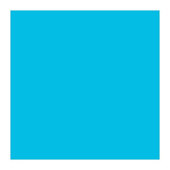Feuilles de cire 200 x 100 mm - Bleu clair