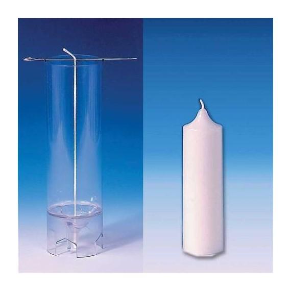 Moule Cylindre (sommet pointu) Ø 40 mm - h 123 mm