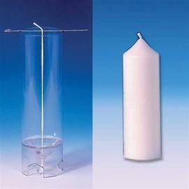 Moule Cylindre (sommet pointu) Ø 50 mm - h 140 mm