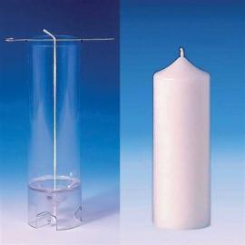 Moule Cylindre (sommet pointu) Ø 60 mm - h 155 mm