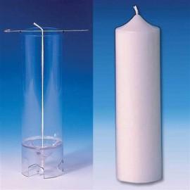 Moule Cylindre (sommet pointu) Ø 60 mm - h 200 mm