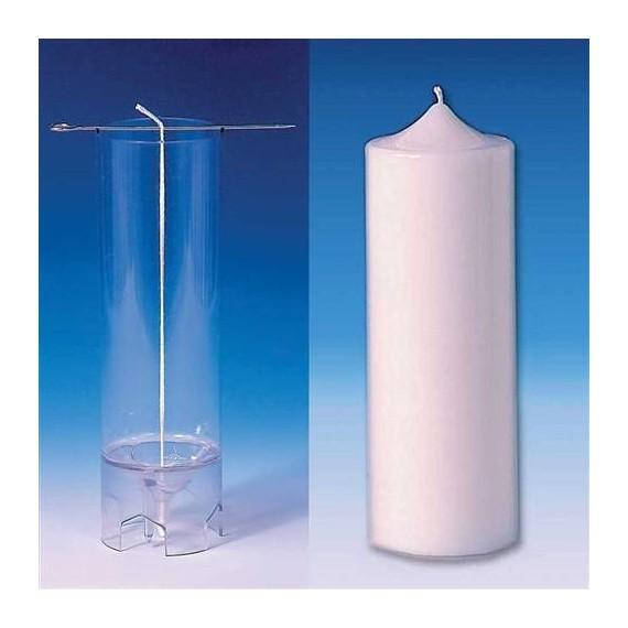 Moule Cylindre (sommet pointu) Ø 70 mm - h 185 mm