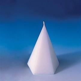 Moule pour bougies Cône pentagonal petit