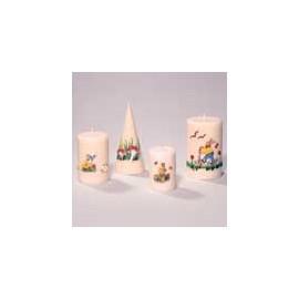 Décoration pour bougies en cire - Lapin assis