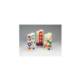 Feuille de cire pour bougies - Blanc