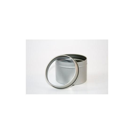 Boite en metal avec couvercle transparent