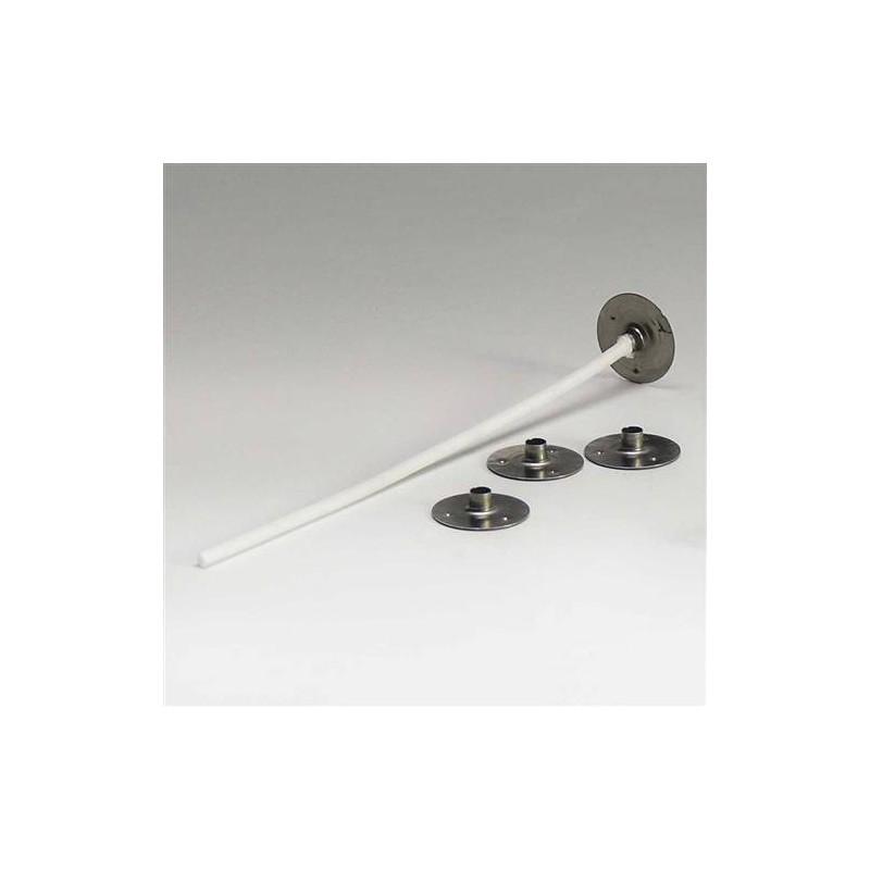 2 mètres de mèche ronde à bougie en coton non enduite diamètre:1mm