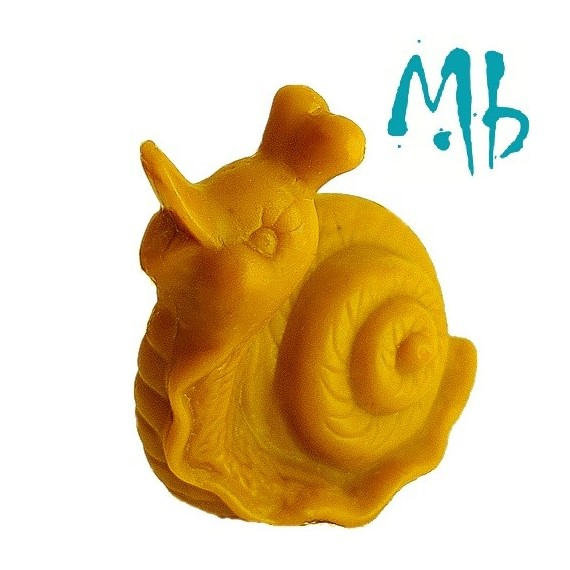 Moule pour Bougies en Silicone Gogo l'Escargot