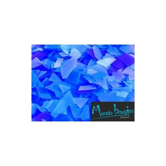 Crackers de cire Bleu foncé / Bleu clair