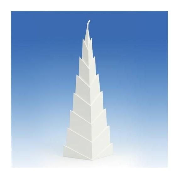 Moule pour Bougies Pyramide en Escaliers