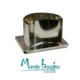 Moule en métal pour bougies Quart de Lune Ø 13,3 cm