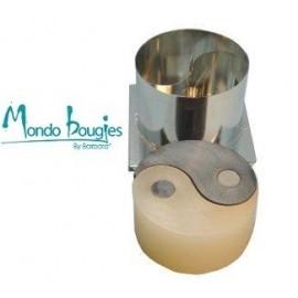 Moule en métal pour bougies Yin Yang Ø 14 cm