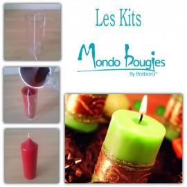 Kit pour mouler des bougies