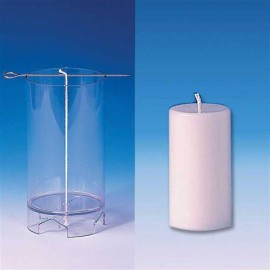 Moule bougies Cylindre (sommet plat) 52x97 mm