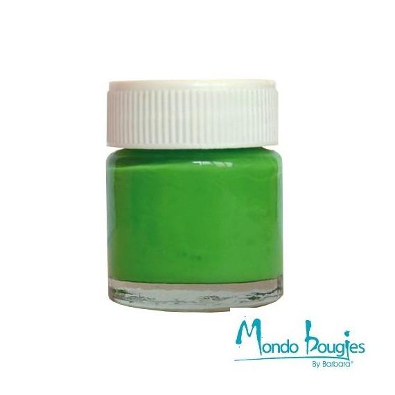 Peinture pour bougies couleur vert clair