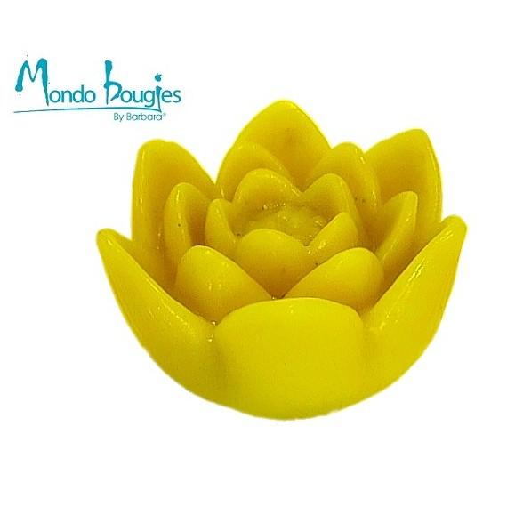 Moule pour bougies en silicone Lotus