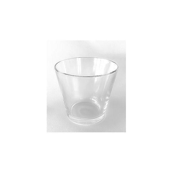 Pot Conique transparent