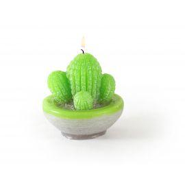 Moule pour bougies en latex Cactus