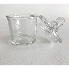 Bonbonnière avec couvercle en verre