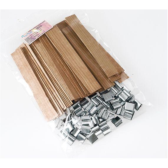 Mèches en bois avec support 20 x 128 x 1 mm