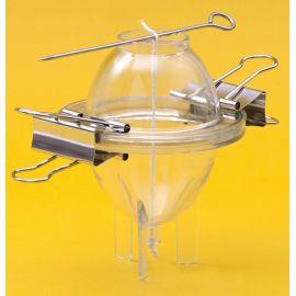 Moule pour bougies en forme d'oeuf h 135 mm