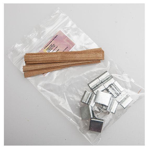Mèches en bois avec support 6 x 85 x 1 mm