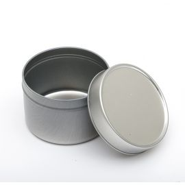 Boite 100 ml avec couvercle aluminium