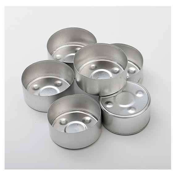 Coupelles aluminium pour bougies chauffe-plat