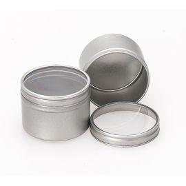 Boites 50 ml avec couvercle transparent