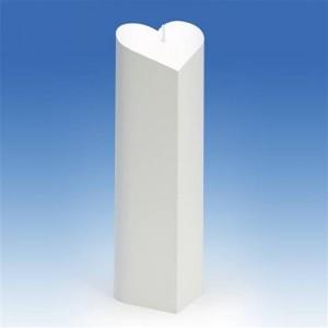 Moule Bougie Cylindre en forme de coeur