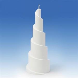 Moule bougie Piramide en Spirale