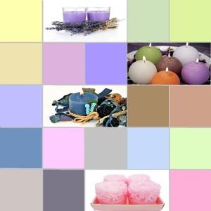 Bougies : les tendances couleurs 2014