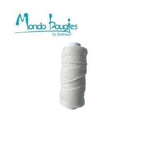 Mèches rondes en coton